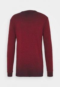 G-Star - LOGO OVERDYE  - Long sleeved top - dry red/sartho blue - 1