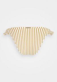 watercult - SUMMER STRIPES - Bikini pezzo sotto - white/honey - 1