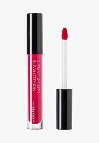 Korres - MORELLO MATTE LASTING LIP FLUID - Liquid lipstick - 29 strawberry kiss - 0