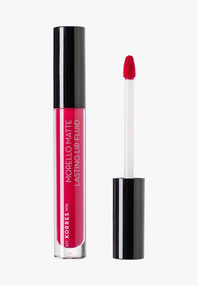 Korres - MORELLO MATTE LASTING LIP FLUID - Liquid lipstick - 29 strawberry kiss