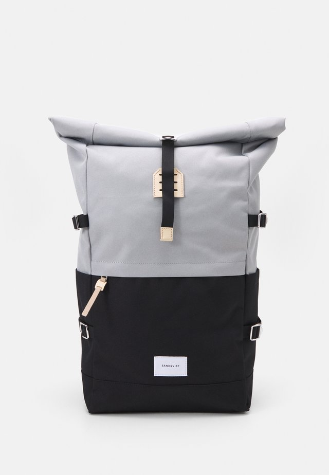 BERNT - Sac à dos - multi grey/black