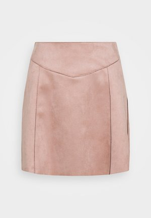 ONLLINUS - Mini skirt - rose