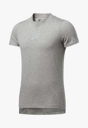 TRAINING ESSENTIALS MÉLANGE T-SHIRT - Basic T-shirt - grey