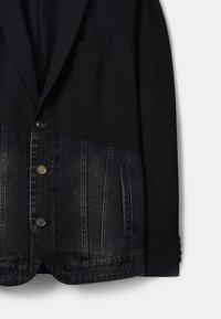 Desigual - Džínová bunda - black - 3