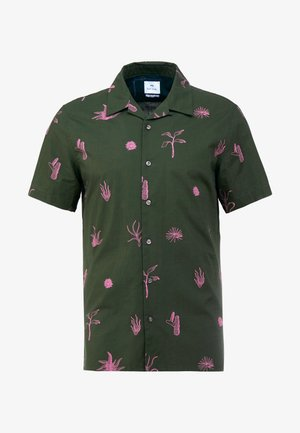 MENS CASUAL FIT SHIRT - Shirt - olive