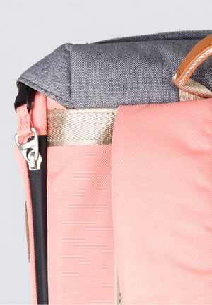 Rucksack - light pink x pumpkin
