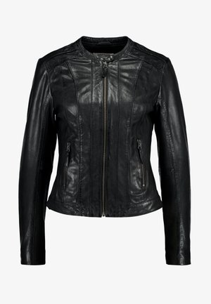 CHOUX - Leather jacket - noir