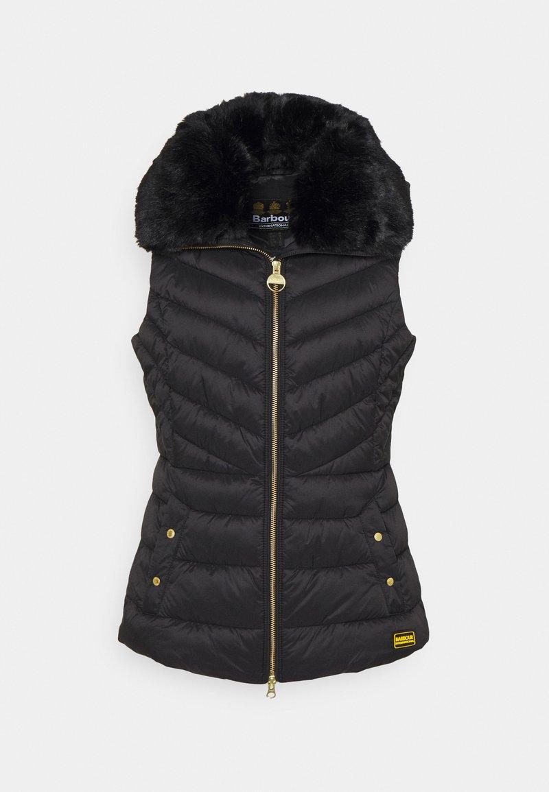Barbour International - SIMONCELLI GILET - Waistcoat - black
