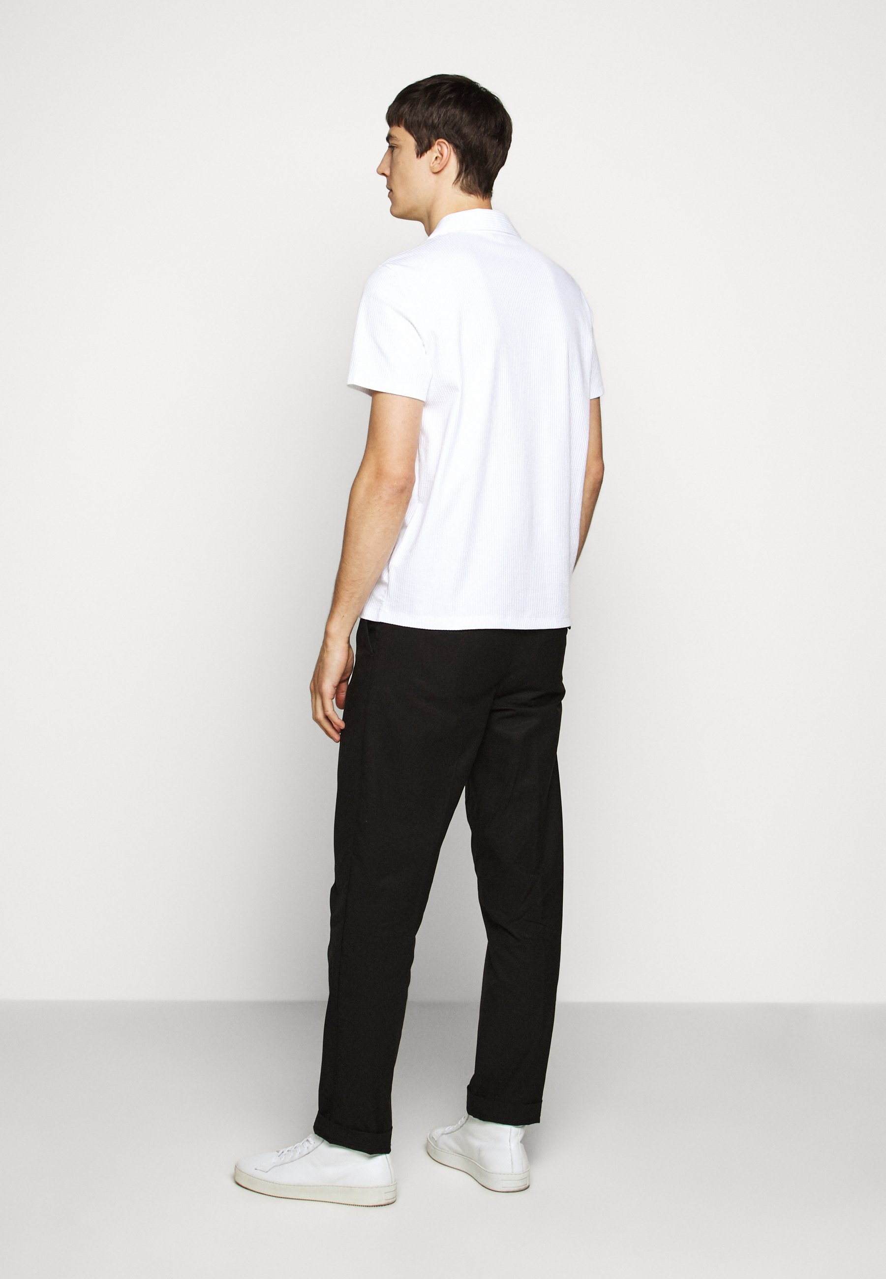 Club Monaco SPLIT NECK - Polo shirt - blanc 90Bpo