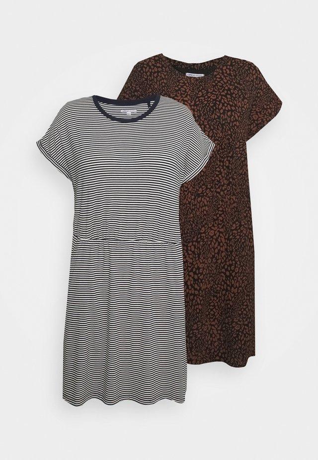 DRESSES 2 PACK  - Sukienka z dżerseju - dark blue