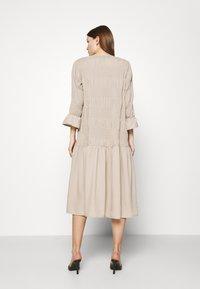 JUST FEMALE - ETIENNE DRESS - Day dress - cobblestone - 2