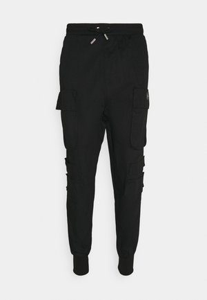 NEW PANTS - Bojówki - black