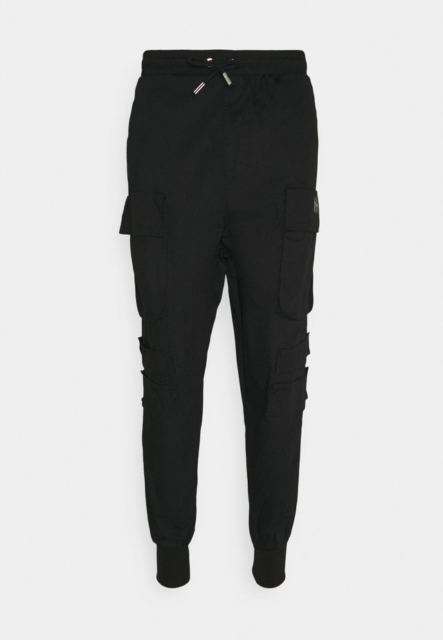 NEW PANTS - Cargobukse - black