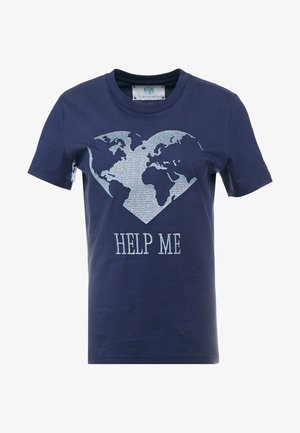 LEO - T-shirts med print - dark blue