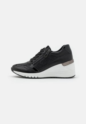 LACE-UP - Zapatillas - black