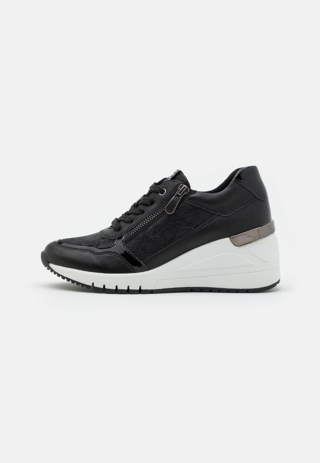 LACE-UP - Sneakersy niskie - black