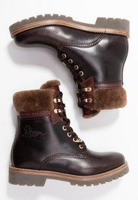 Panama Jack - PANAMA IGLOO BROOKLYN - Lace-up ankle boots - marron/brown - 3
