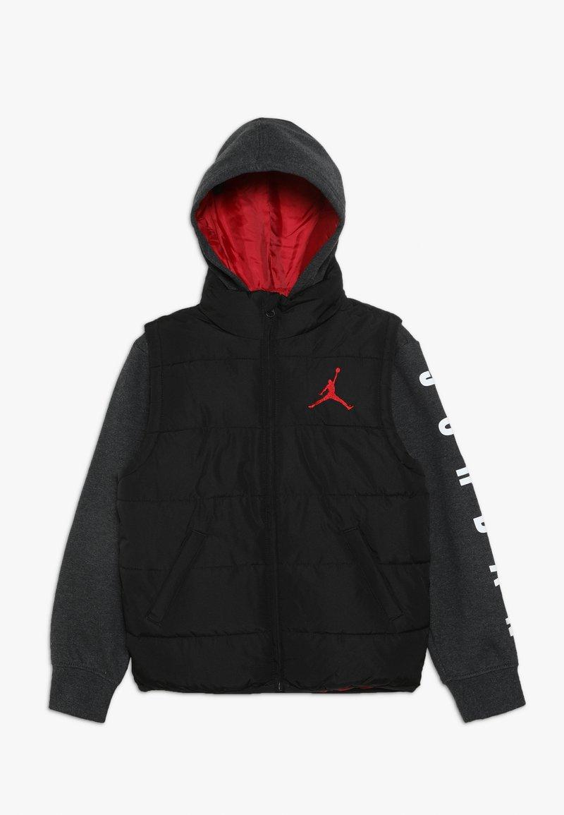 Jordan - JUMPMAN PUFFER - Veste d'hiver - black