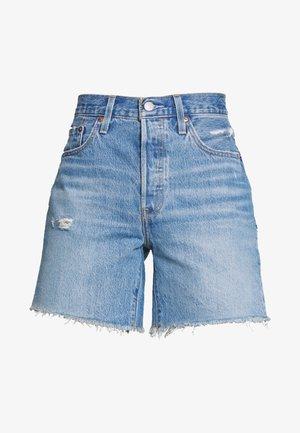 501® MID THIGH SHORT - Denim shorts - denim