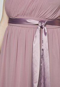 Dorothy Perkins Curve - SADIE SHOULDER DRESS - Společenské šaty - dark rose - 4