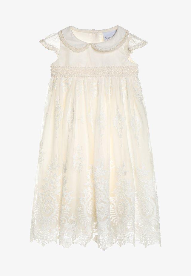 VINTAGE OCCASION DRESS BABY  - Koktejlové šaty/ šaty na párty - ecru