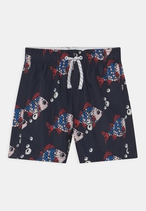 FISHES - Swimming shorts - dark navy