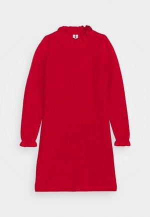 DRESS - Gebreide jurk - red bright
