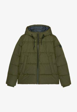 Winter jacket - dark scandinavian olive