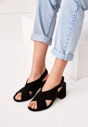 MOTION FLEX - High heeled sandals - black