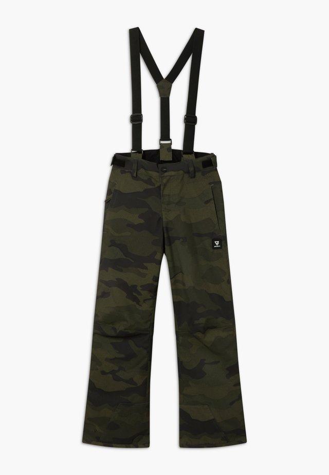 FOOTSTRAP BOYS - Zimní kalhoty - pine grey