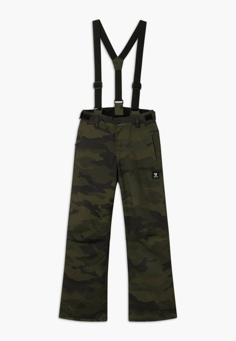 Brunotti - FOOTSTRAP BOYS - Snow pants - pine grey