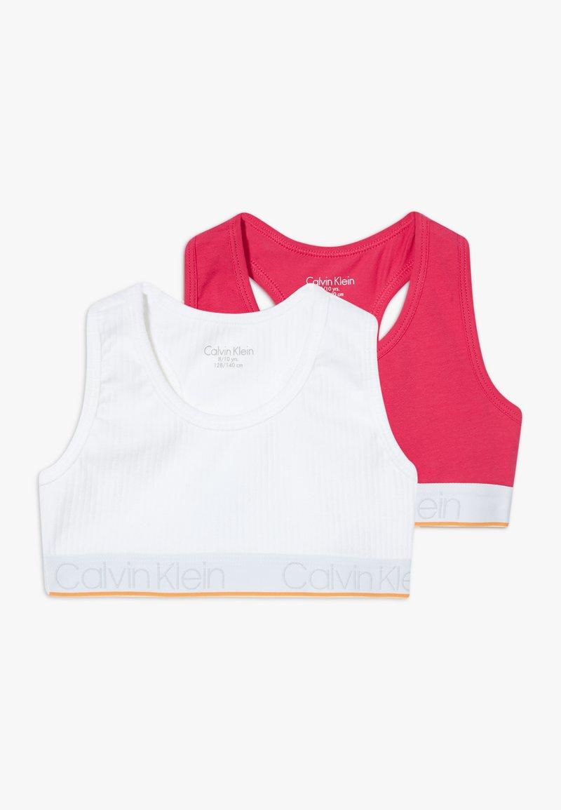 Calvin Klein Underwear - BRALETTE 2 PACK - Bustier - white