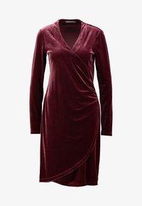 Expresso - NEISHA - Vestido de cóctel - bordeauxrot - 4