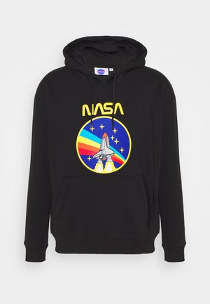 NASA ROCKET HOOD - Sweatshirt - black