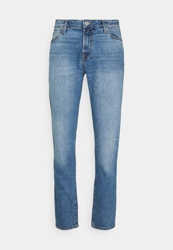 JJICLARK JJICON - Jeans straight leg - blue denim
