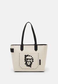 IKONIK GRAFFITI TOTE - Handbag - natural