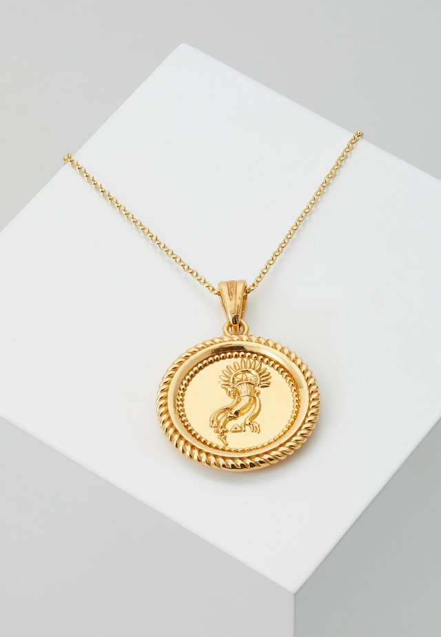 ALMATHEA PENDANT - Collana - gold-coloured