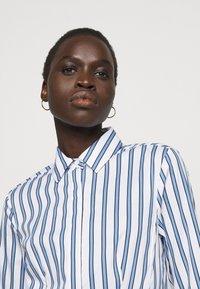 Steffen Schraut - SUMMER DRESS - Shirt dress - white/blue - 5