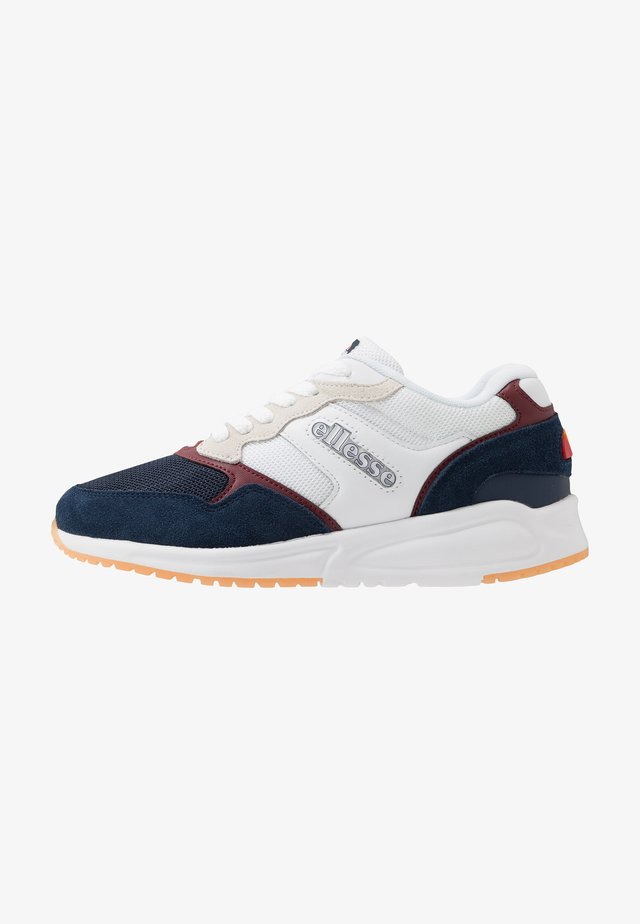NYC84 - Trainers - white/dark blue/burgundy