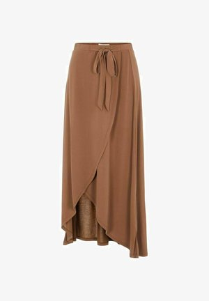 OBJANNIE MIDI SKIRT - STRAIGHT - Wrap skirt - partridge