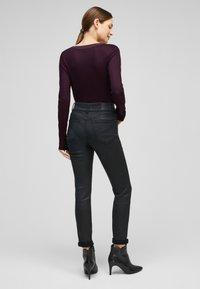 s.Oliver BLACK LABEL - Long sleeved top - dark purple - 2