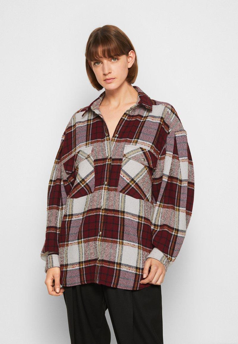Iro - HATIK - Button-down blouse - red