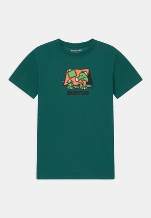 KIDS EMERALD SHORT SLEEVE UNISEX - Triko s potiskem - antique green