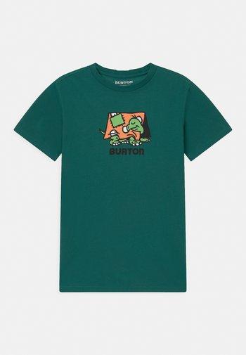KIDS EMERALD SHORT SLEEVE UNISEX - Print T-shirt - antique green