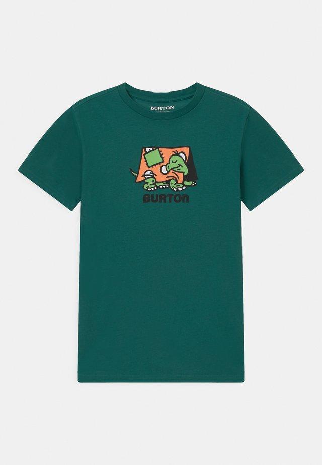 KIDS EMERALD SHORT SLEEVE UNISEX - T-shirt imprimé - antique green