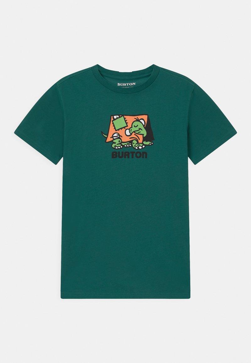 Burton - KIDS EMERALD SHORT SLEEVE UNISEX - Print T-shirt - antique green