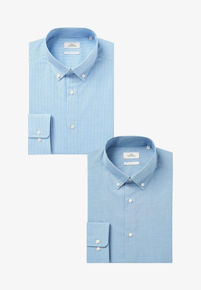 TWO PACK - Formální košile - blue