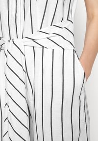 Banana Republic - FRONT STRIPE - Jumpsuit - black - 5