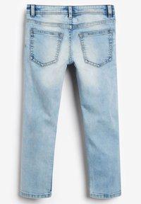 Next - DISTRESSED - Jeans straight leg - bleached denim - 1