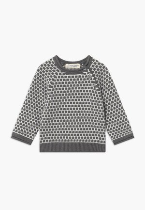 BABY - Trui - dark grey /ivory